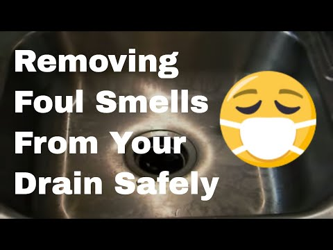 How to Remove a Foul Smell From Your Drain