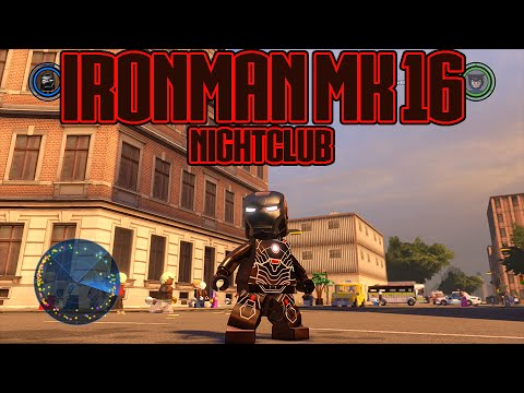 LEGO Marvel's Avengers - Iron Man MK16 (Nightclub) Gameplay and Unlock Location