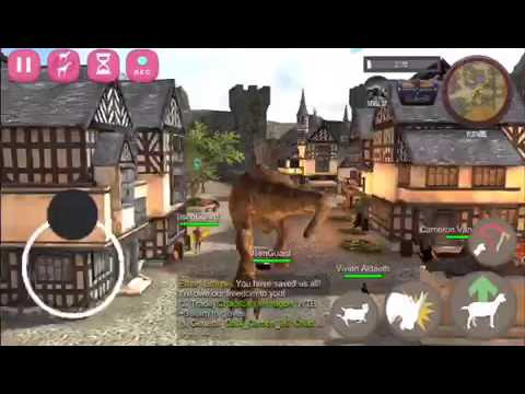 how to get the old goat (dinosaur) in goat mmo
