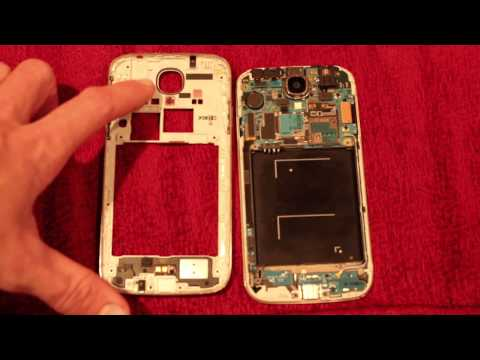 Water Damage Stickers Indicators On Samsung Galaxy S4