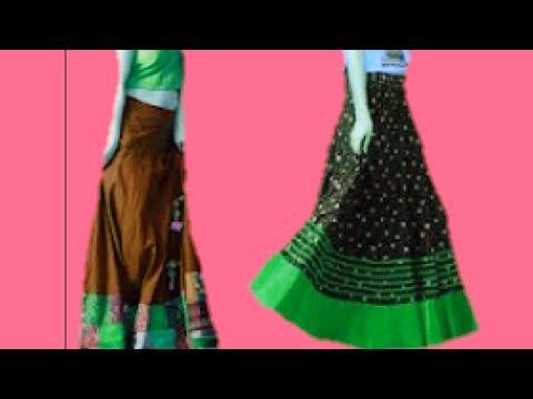 Gopi Dress/Skirt cutting and stitching....