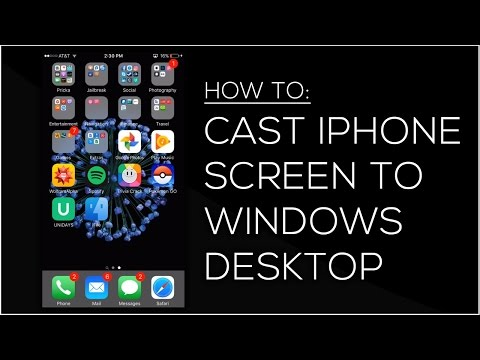 How to mirror iPhone/iPad/iPod Touch screen to a Windows PC