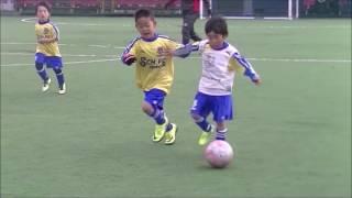 幼稚園サッカー(U6)天才ドリブラーvol2