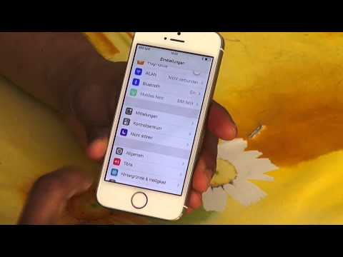 How to iPhone 5s Delete & Resetting (Tamil)