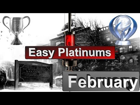 Easiest Platinum Games for PS4 in February [2018]