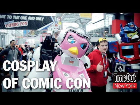 Cosplay of New York Comic Con 2014