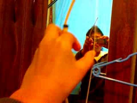 how to make a bamboo bow and arrow.