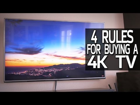 4 Rules For Buying a 4K TV!
