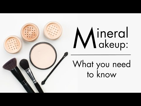 Things You Should Know About Mineral Makeup