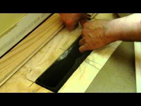 How to Lower Air Duct to Install Wood Floor Vent
