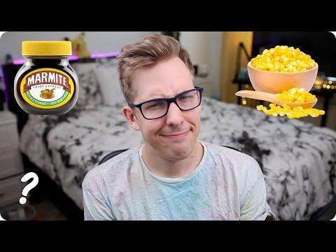 Marmite, Sweetcorn, and Weird British Stuff   Ask Evan
