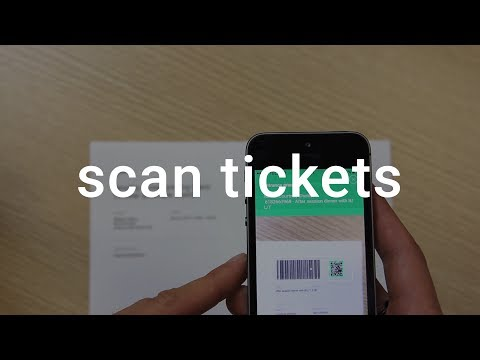 How to scan tickets with the Billetto app