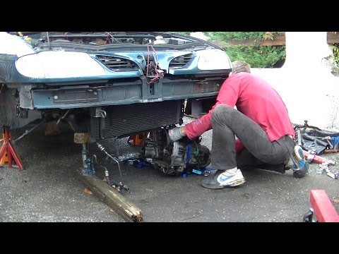 Gearbox replacement part 1: gearbox removal