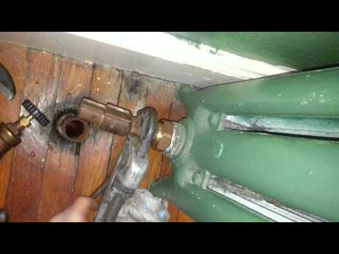 Angle Steam Valve Replacement