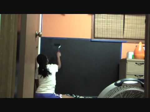 Chalkboard  Paint Kid Room Makeover | Projects Made Simple