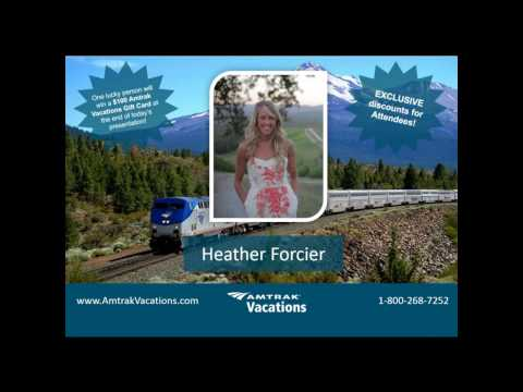 Webinar Recording - Most Popular Spring Vacation Rail Packages! (02.1.2017)