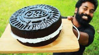 Home Made OREO Cake | ഓവൻ ഇല്ലാതെ അടിപൊളി ഓറിയോ  കേക്ക് | M4 Tech |