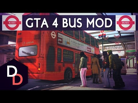 All Aboard The Banter Bus! #1 - GTA IV Bus Mod - London Arriva Buses
