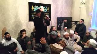 Beautiful kalaams by Shahbaz Hassan Qadri at Mehfil in Oldham