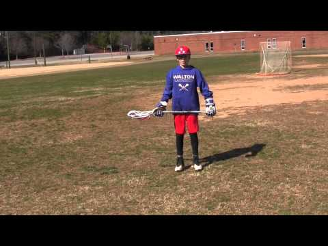 M12LAX How to Hold a Lacrosse Stick