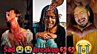 "Sad tiktok video/💔💔/Heart Touching ""Breakup"" 💔😭 Most Emotional Musically Videos//breakup part 51"