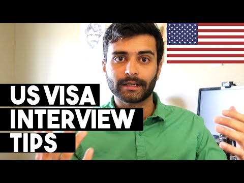 10 Tips for US VISA INTERVIEW! F1 Student Visa