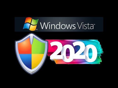 windows vista updates through 2020!