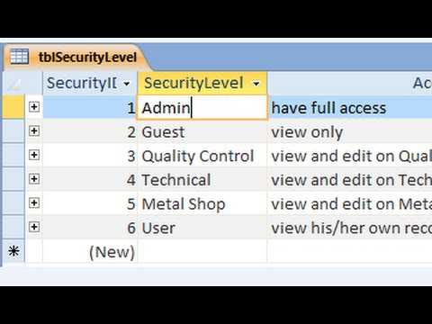 Create Login Form with Advance Security Level Part 1 of 3