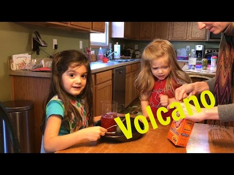 An Experiment.  How you make your own volcano.