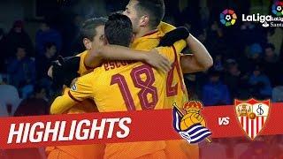 Resumen de Real Sociedad vs Sevilla FC (0-4)