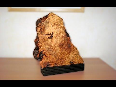 wooden sculpture - apple root wood
