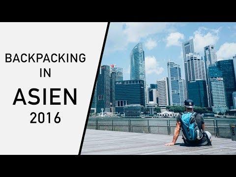 Backpacking Asia | Meine erste Reise alleine | Bali, Singapore, Hong Kong, Macau, Kuala Lumpur