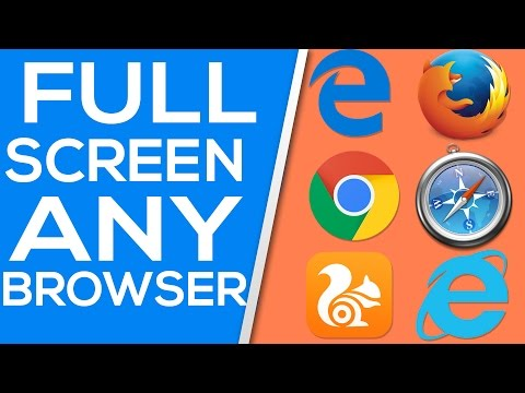 How To Make Your Browser Full Screen