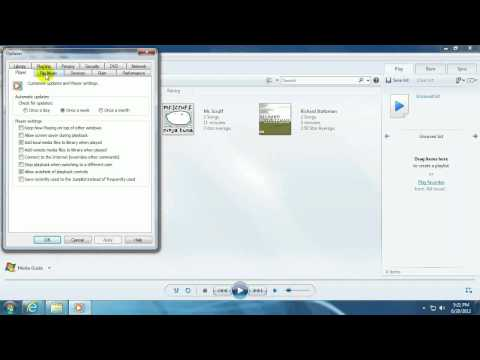 Tech Support: How to change the file format in which Windows Media Player rips CDs