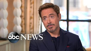 Robert Downey Jr Says He Had A blast Filming spider man Homecoming