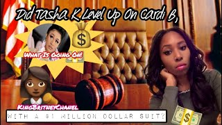 Did Tasha K Level Up On Cardi B | With A $1 Million Dollar Suit?👀