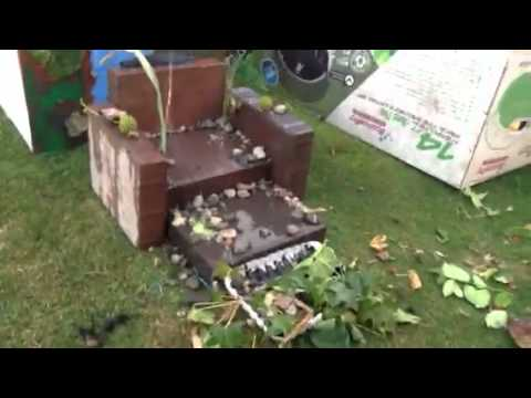 Home Made Water fall:School Project.