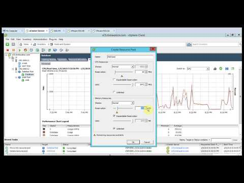How to Create Resource Pools in VMware vSphere - Part 16
