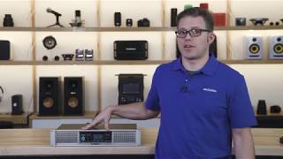 QSC GXD Amplifier DSP Setup   Crutchfield video
