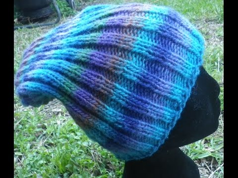 How to knit a beanie hat | how many stitches to knit a beanie explained | How to knit a hat