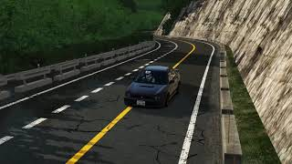 Shomaru Outbound Touge Attack Most Difficult Touge Assetto