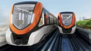 Lahore Orange Line Metro Train - A documentary