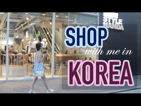 Shop with me in KOREA: Hongdae, Dongdaemun & Myeongdong