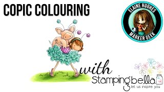 Coloured for the TheDailyMarker 30 Day Colouring Challenge #thedailymarker30day .   To see all my coloured images for the challenge, along with Copic Colour Maps showing the colours used, visit this page: http://quixoticcards.com/thedailymarker-30-day-colouring-challenge-july-2016-thedailymarker30day/  Stamping Bella Tiny Townie Petunia Gets a Piggyback rubber stamp set(http://www.stampingbella.com) Make it Colour Blending Card  Blog: http://www.markergeek.com Instagram: http://instagram.com/markergeek Stamping Bella: http://www.stampingbella.com  Royalty Free Music by Kevin Macleod http://incompetech.com/  Stamp provided by Stamping Bella. Please visit http://quixoticcards.com/about-me for affiliate and product disclosure.