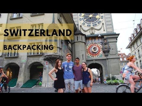 Duke in Geneva, Weekend 1: Switzerland Backpacking
