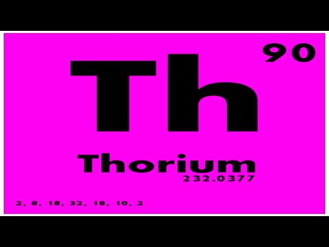 STUDY GUIDE: 90 Thorium | Periodic Table of Elements