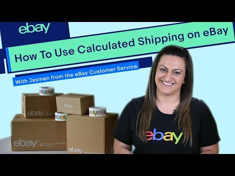 eBay | How To | Using Calculated Shipping