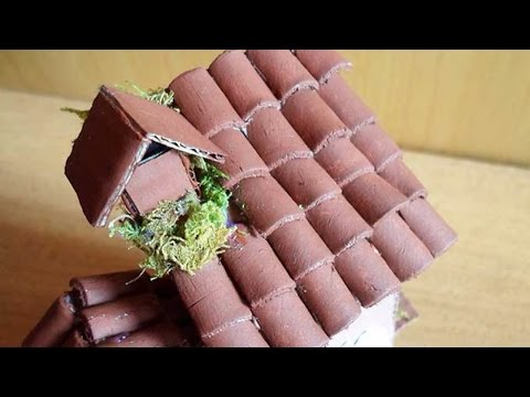 Create Miniature Clay Roof Tiles - Crafts - Guidecentral