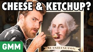 Weirdest Foods Eaten By Presidents (GAME)