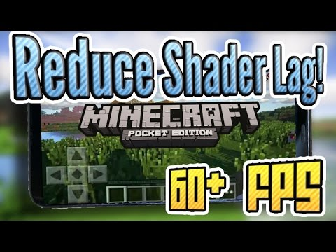 How to Get Rid of Shader Lag in Minecraft PE! 60+ FPS!